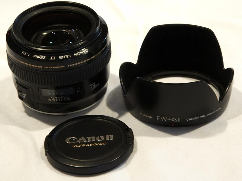 SOLD: Canon EF 28mm f/1.8 USM w/ hood — Digital Grin Photography Forum